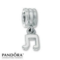 Pandora Dangle Charm Music Note Sterling Silver