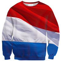 Dutch (Netherlands) Flag Sweater