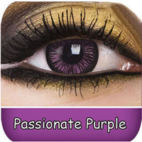 Purple Contact Lenses | Passionate Purple Big Eyes Contact Lenses