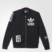 Adidas Originals Women's Berlin Logo Badge Track Top ALL SIZES FREE SHIP AB2679
