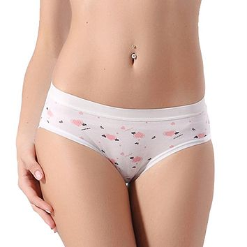Brand New Sexy Calcinha Women's But Lifter Candy Color Casual Cotton Panties
