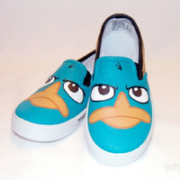 Hand Painted Perry Shoes