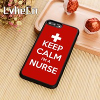 Keep Calm Im A Nurse Phone Case Cover