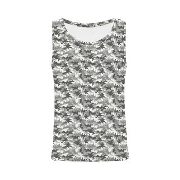 Camouflage Design 1 Women's All Over Print Tank Top