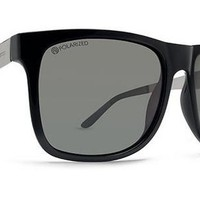 Dot Dash Admiral Sunglasses (Black Gunmetal/Grey Polarized) at 7TWENTY Boardshop, Inc