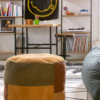 Patched Pouf | Urban Outfitters
