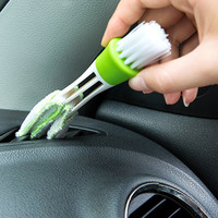 Car Air Outlet Vent Brush Internal Seat Gap Cleaner Keyboard Clean Dust Cleaning Tools Interior Accessories Cleaning Brush