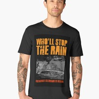 'Creedence - Who'll Stop The Rain' Men's Premium T-Shirt by BlackLineWhite