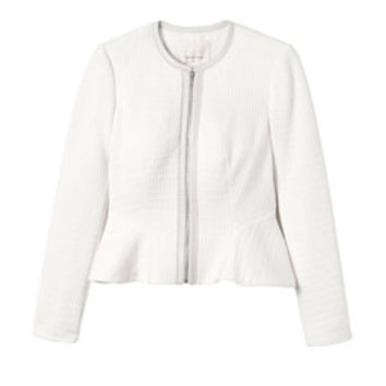 Rebecca Taylor Double Face Jersey Jacket