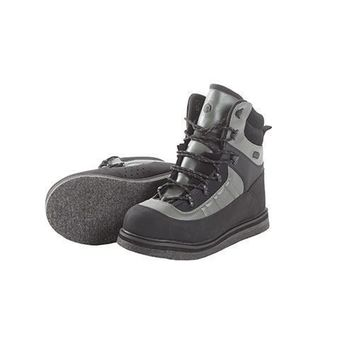 Wading Boot Sweetwater Felt Sole, Size 6, Gray and Black