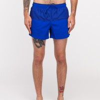 Topman Blue Mesh Swim Short
