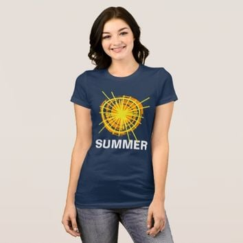 Summer Sunshine Funny customizable T-Shirt