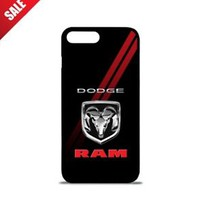 Top Dodge RAM Red Stripe Best Hard Case For iPhone 6 6+ 6s 6s+ 7 7+ 8 8+ X Cover