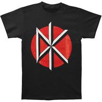 Dead Kennedys Men's  Logo W/ Back T-shirt Black