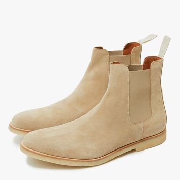 Common Projects / Chelsea Boot in Tan Suede