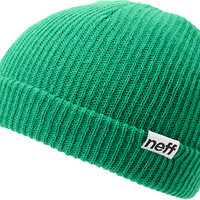 Neff Daily Fold Green Beanie at Zumiez : PDP