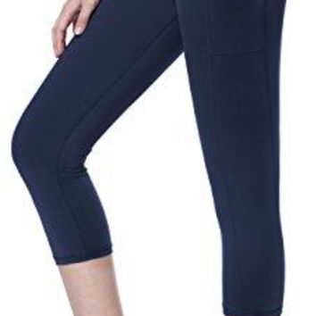 Sudawave Womens Workout Leggings with Pocket Running Tights Yoga Pants