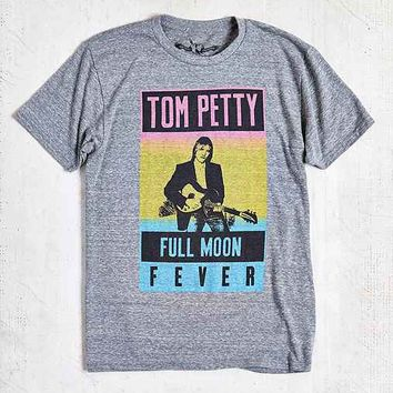 Tom Petty Full Moon Fever Tour Tee- Grey