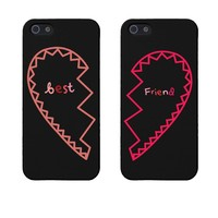 BFF Phone Covers Best Friends Matching Hearts Phone Cases for Iphone 5 5s Gift for Best Friends