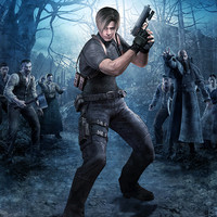Resident Evil 4 Leon S. Kennedy video game poster 18x24