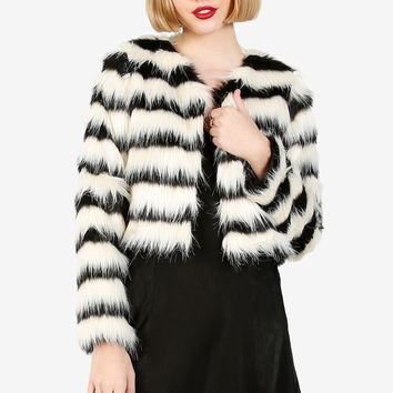 Queen For A Day Faux Fur Jacket