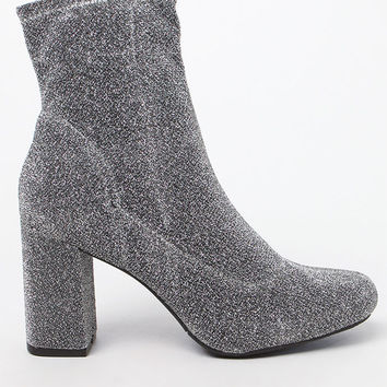 Mia Stretch Heeled Booties at PacSun.com