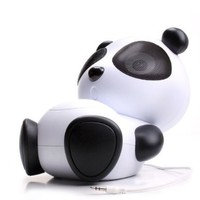 GOgroove Mama Panda Pal Portable High-Powered Stereo Speaker System for Tablets / Smartphones / Laptops / MP3 Players & More!