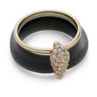 Crystal Movable Band Ring