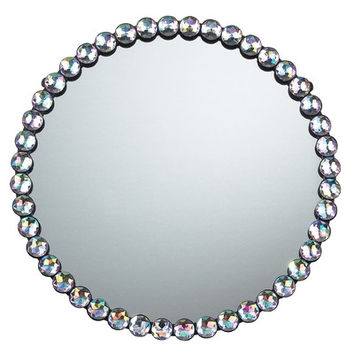 "Sterling Industries 15.5"" H x 15.5"" W Jewel Edged Mirror"