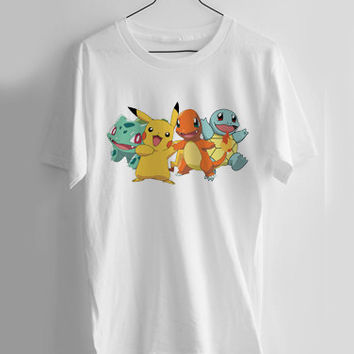 pokemon all T-shirt Men, Women and Youth