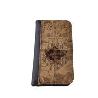 Harry Potter inspired Marauders Map distressed Samsung S4 S5 case iPhone 4/5 5C