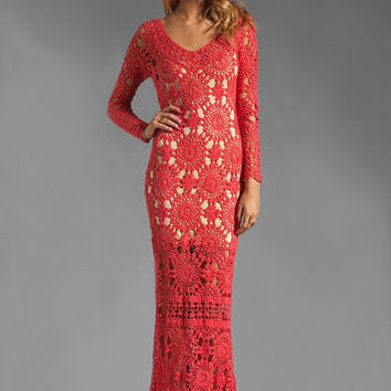 Crochet maxi dress PATTERN, designer crochet dress PATTERN, detailed written instructions in ENGLISH (every row), sexy dress for Valentine's