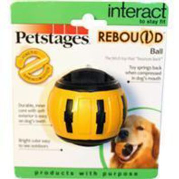 Petstages - Rebound Bounce Back Ball Interactive Dog Toy