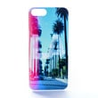 LA Color Streak Palm Trees Case