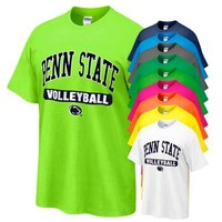 Mobile - Penn State T-shirt with Volleyball Oval Print | Tshirts > ADULT > SPORT TEES