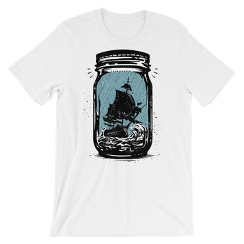 Trapped Ship Short-Sleeve Unisex T-Shirt