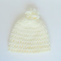 Toddler Cream Hat Baby Girl Winter Pastel Beige Cap Infant Boy Beanie  Fall 2 To 5 Years Old Gender Neutral  Clothing