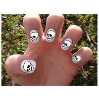 Skulls // Skeleton // Halloween // Nail Decals by SokayDesigns