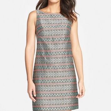 Women's Adrianna Papell Jacquard Shift Dress,