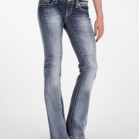Miss Me Destructed Boot Stretch Jean