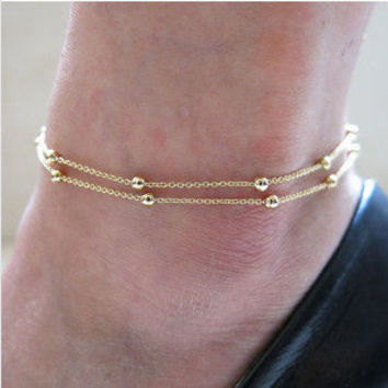 New Arrival Shiny Awesome Stylish Gift Hot Sale Great Deal Accessory Chain Anklet Bracelet [8080500359]