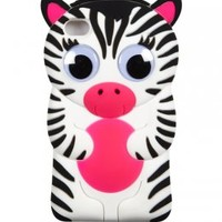 Silicone Zebra Tech Case 4 | Girls Cases & More Electronics | Shop Justice