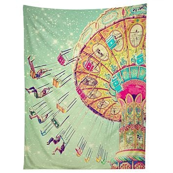 Shannon Clark Swinging Through Stars Tapestry