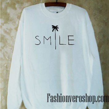 Smile Palm Sweatshirt