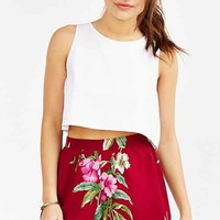Band Of Gypsies Wild Flower Short- Maroon
