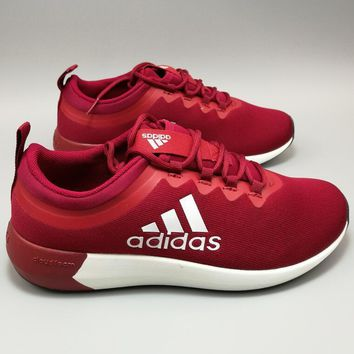 """Adidas"" NEO X Perspective Breathable Nets Loose Sports Shoes (RED white logo) H-MDTY"