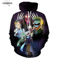 Rick And Morty Hoodie Sweatshirt Men Women Autumn Winter Funny Cartoon Anime Hoodies Casual Pullover Brand Hoody Jacket Dropship