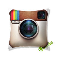 Insta Gram Logo Square Pillow Cover