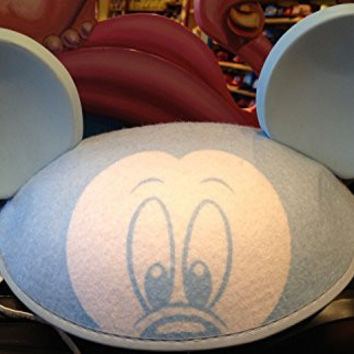 Disney Parks Mickey Mouse Blue Baby Boy Ears Hat