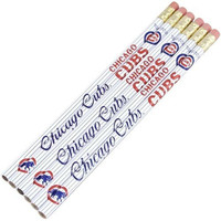 MLB Chicago Cubs 15590041 Pencil (6 Pack)